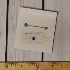 Vintage Jewelry - enamel christmas santa claus star brooch pin